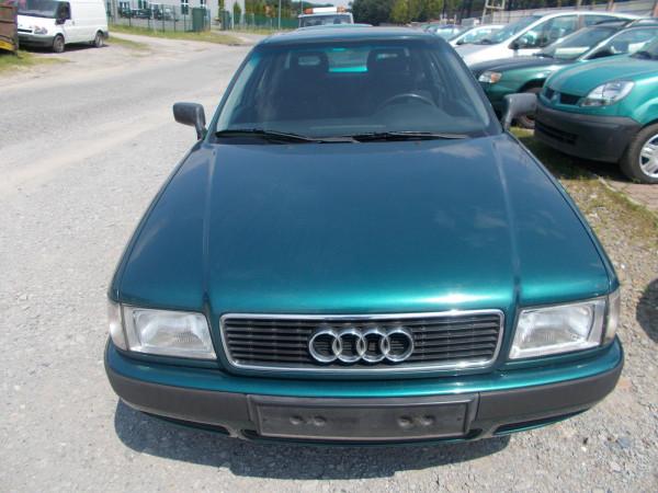 Audi 80 LZ6P Grün Tür vorne rechts