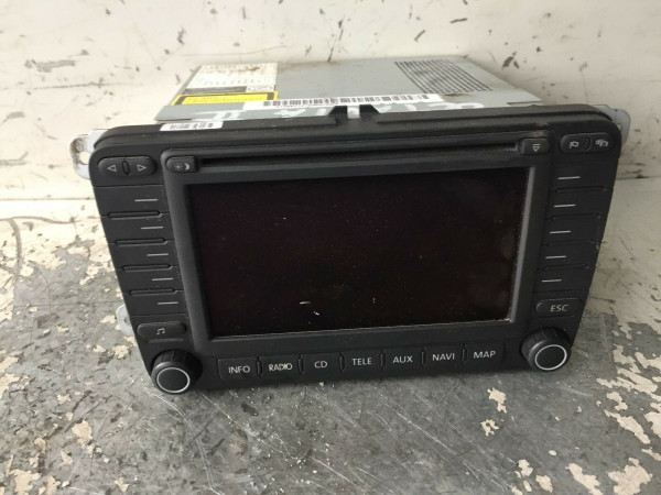 Display Player Navigation Scoda Octavia II 2007 Baujahr