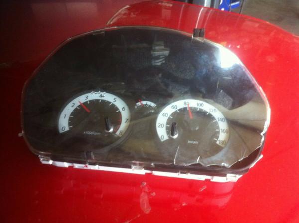 Kia Picanto 1.1 (BA) ab 2008 Tacho Tachometer 94023-07730 Scheibe kaput!!