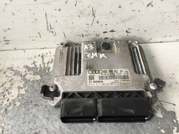 03G906021JH Motorsteuergerät Audi A3 8P 2.0 TDI 103KW BMM TOP!!