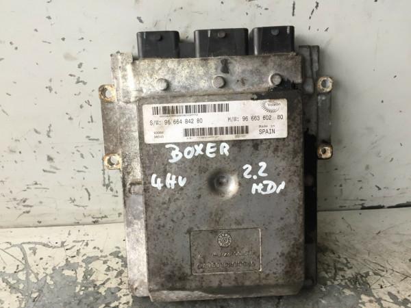 9666484280 Motorsteuergerät Peugeot Boxer 2.2 HDI 4HV Motor
