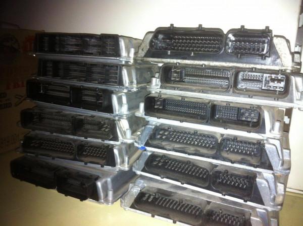 9653447480 Steuergerät Set komplett Wegfahrsperre Citroen C3 1.4 HDI 8HX Motor