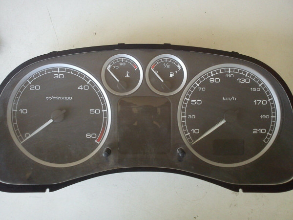 P9636708880E Tacho Peugeot 307 HDI 2005 Baujahr