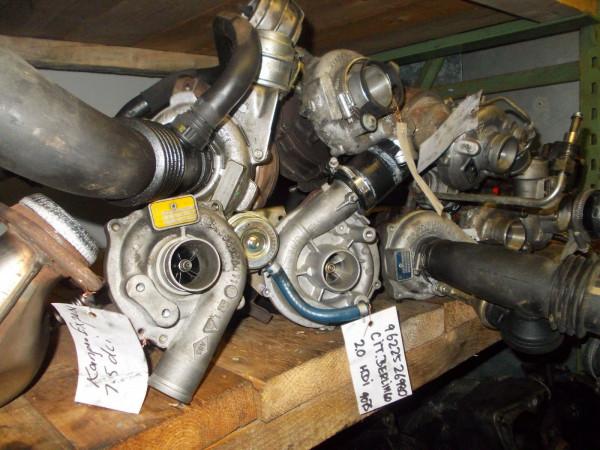 028145701J Turbo Turbolader VW T4 Bus 1.9 TD ABL Motor 55KW ca.167000km!!