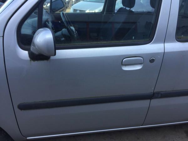 Opel Agila A Tür vorne links komplett in Z157 silber