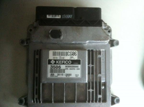 39115-2B060 39101-2B240 Motorsteuergerät Hyundai i20 1.4 74KW 2009Baujahr G4FA