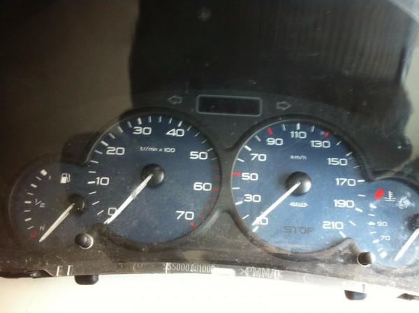 9662745480 Tacho Citroen Berlingo 1.6 HDI 66KW 90PS 2007 Baujahr