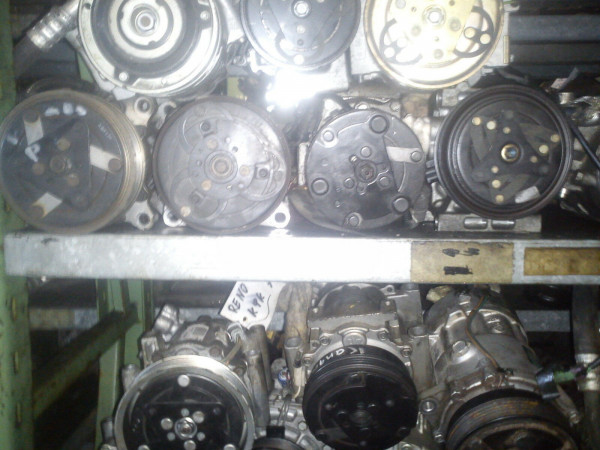 H12A1AA4DJ Klimakompressor Mazda Premacy 1.9 Benziner FP Motor 1999Bj.
