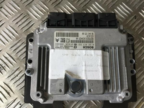 9664257580 Motor Steuergerät Citroen C4 1.6 HDI 9HZ Motor geprüft!!!