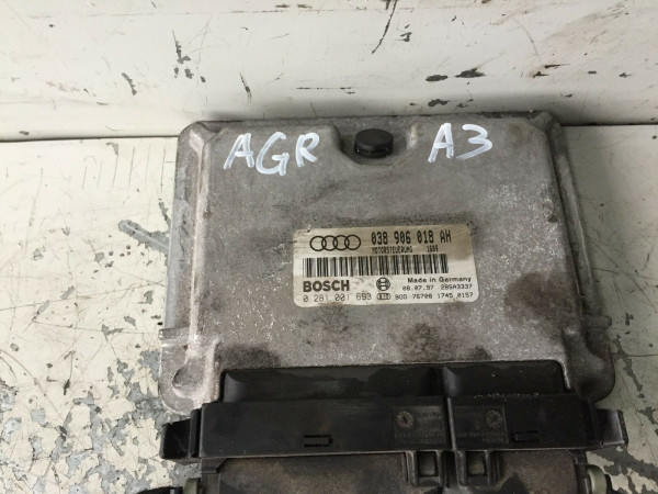 038906018AH Motor Steuergerät VW Golf IV Audi A3 1.9 TDI AGR Motor 66KW