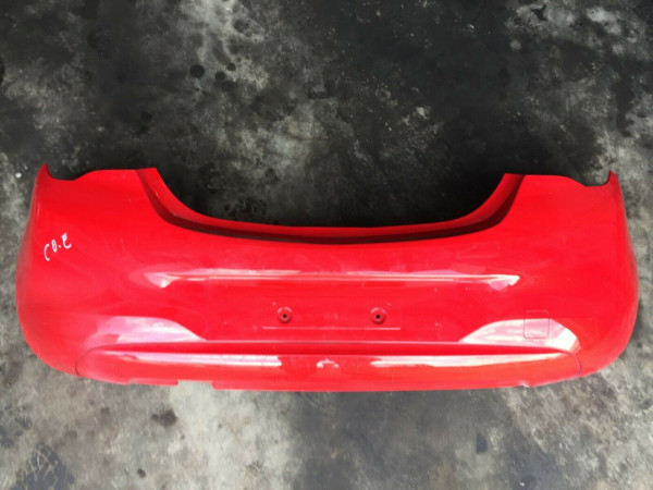 Opel Corsa E Stoßstange hinten 39002839 in rot Original!! 475498858