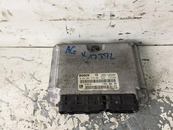 0281001670 90589736 Motorsteuergerät Opel Astra G 1.7 DTI X17DTL Motor
