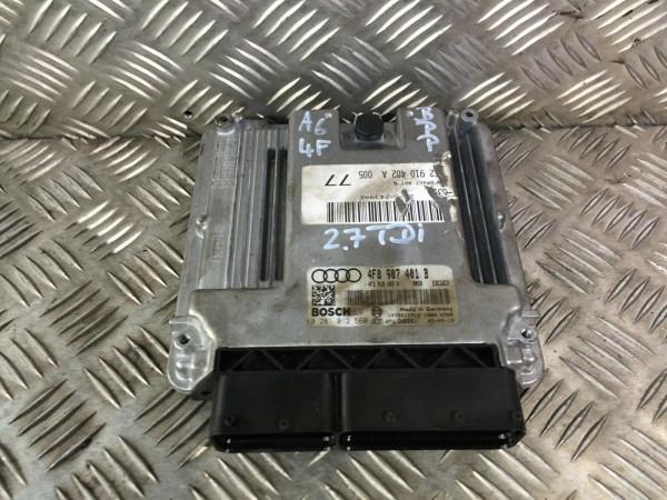 Motor Steuergerät Audi A6 4F 2.7 TDI 132KW BPP Motor Geprüft!!! 4F0907401B