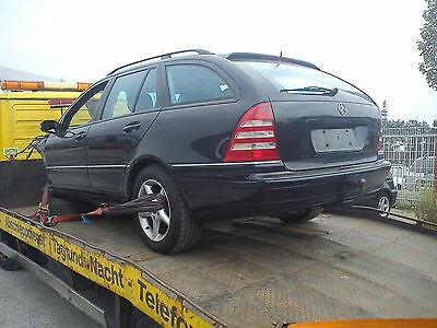 Mercedes C-Klasse W203 kombi Tür vorne rechts in 359 Tansanitblau ohne Rost!!