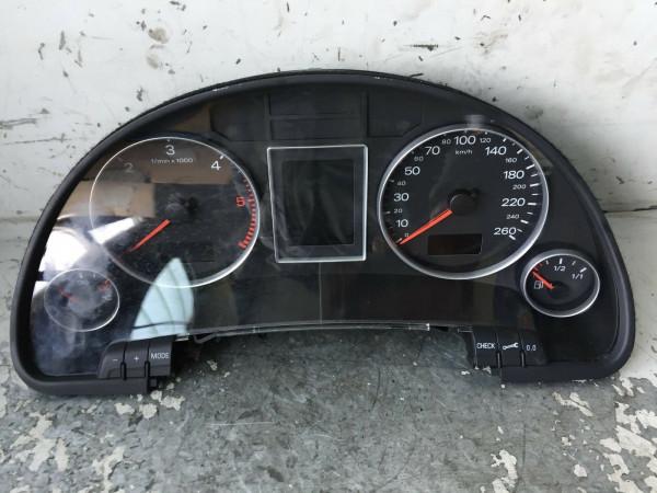 8E0920901D Tacho Audi A4 B7 2.0 TDI 103KW 2007 Baujahr Geprüft!!