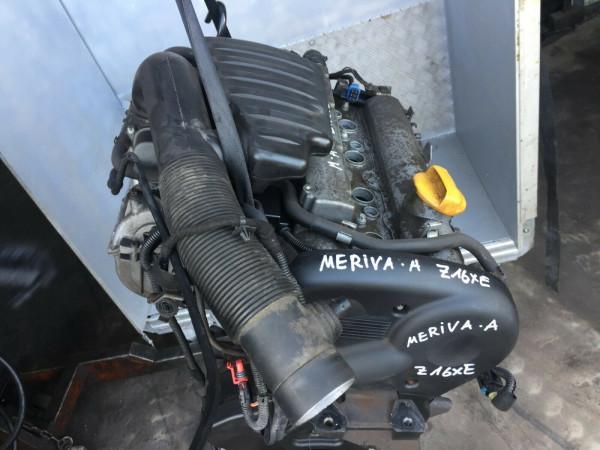Z16XE Motor Opel Vectra Astra meriva Signum 1.6 16V 74KW ca.109000km! Geprüft!!