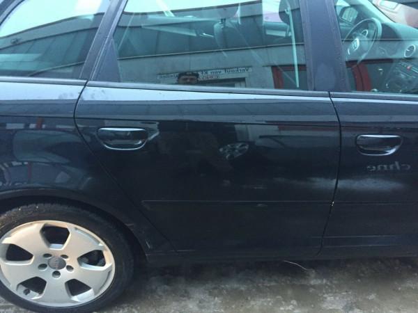 Audi A3 8P Sportback Tür hinten rechts in Phantomschwarz LZ9Y 2006 Bj.