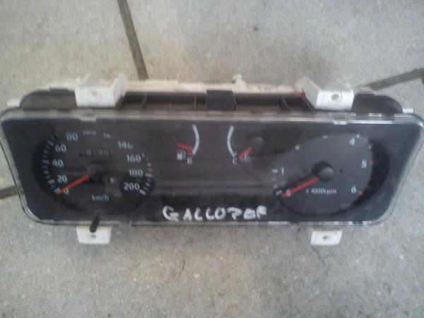 000814-0232 hs806312lk Hyundai Galloper 2.5 TD 73KW Tacho