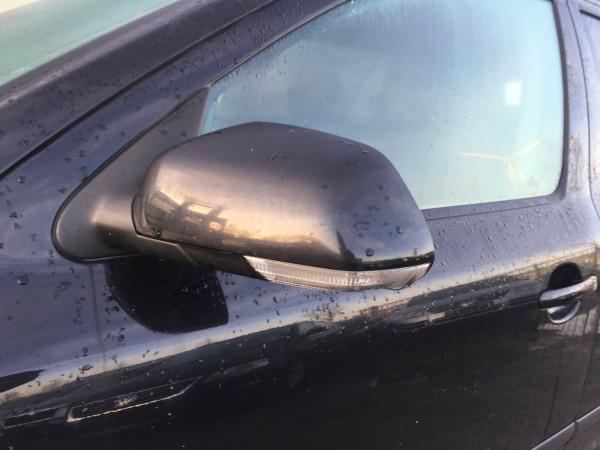 Scoda Octavia II Außenspiegel links elektrisch in schwarz LF9R