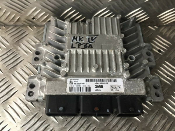 8G91-12A650-RB Motor Steuergerät Ford Mondeo IV MK4 2.0 TDCI LPBA Motor GEPRÜFT!
