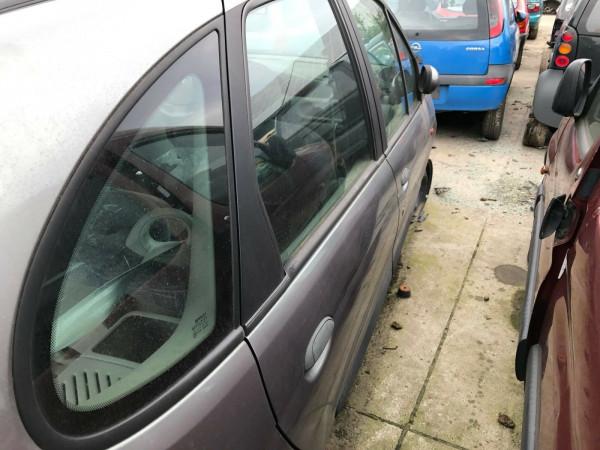 Renault Scenic 1.6 16V Tür hinten rechts in grau NV603 Baujahr 2001