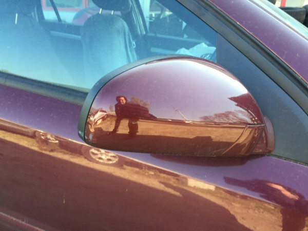 Opel Vectra C Limousine Außenspiegel rechts elektrisch Rot Z594 Rubensrot