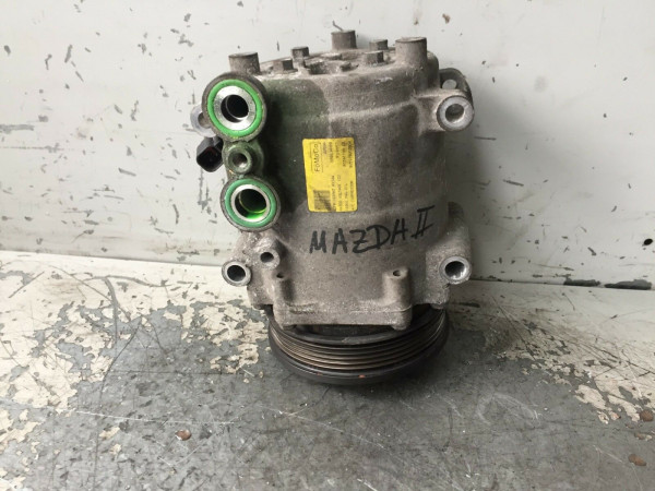 8V5119D629D Klimakompressor Mazda II 2 1.4 DC 50KW F6JB motor 2007 Baujahr