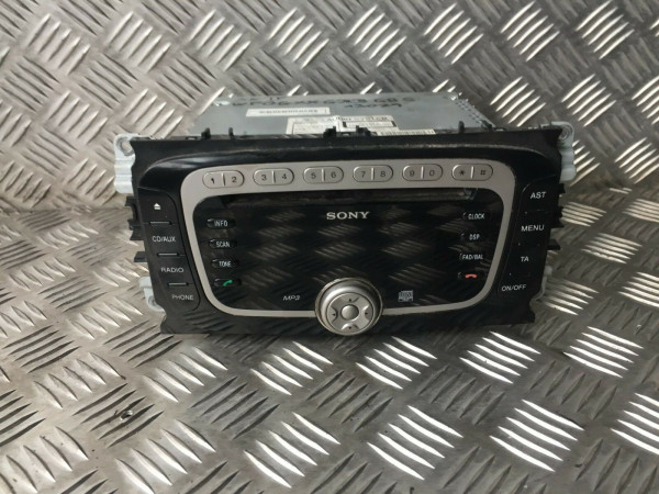 GLJ140758 VP6M2F18C821AG Radio CD-Player Ford Mondeo IV MK4 ab 2007 Baujahr