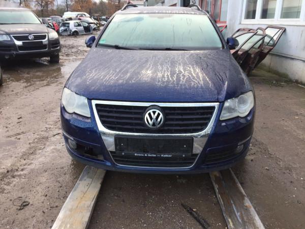 VW Passat 3C kombi Außenspiegel links elektrisch in Blau LD5Q