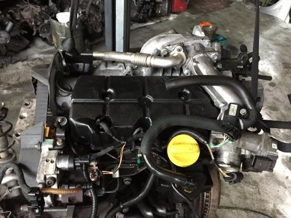 F9Q758 Motor Renault Laguna II 2007Bj. 96KW ca.148000km! mit Einspritzanlagen!!