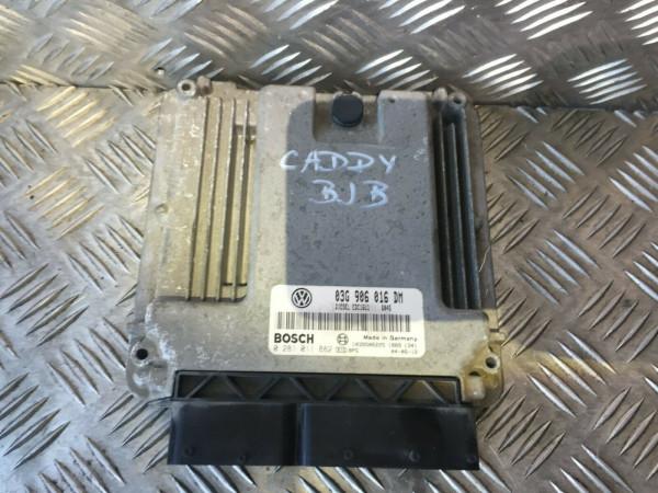 03G906016DM Motor Steuergerät VW Caddy III 1.9 TDI BJB Motor
