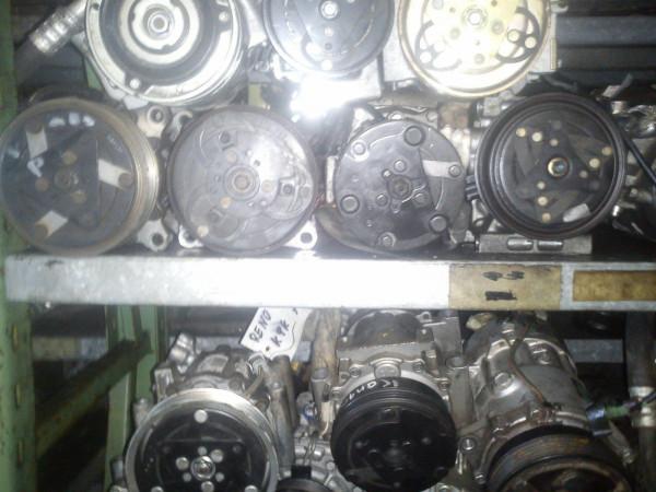 Klimakompressor Ford Fiesta V 1.25 16V M7JB Motor 2003 Baujahr