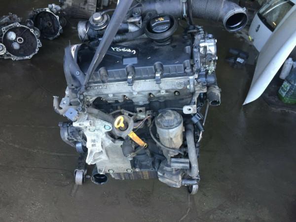 VW Caddy III Motor BJB 1.9 TDI 77KW komplett mit Anbauteile ca.137000km!!