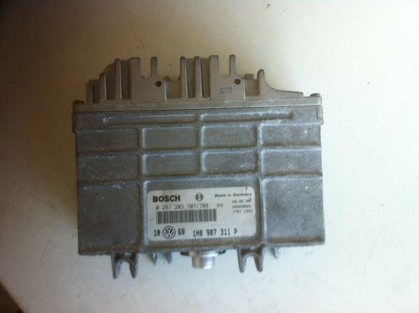 0261203707 1H0907311P Steuergerät VW Golf III 1.8 90PS ADZ Motor