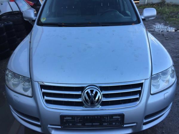 VW Touareg 7L Motorhaube in Reflexsilber LA7W ab 2002 Baujahr kein Rost,Delle