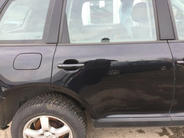VW Touareg 7L Facelift ab '06 Tür komplett hinten rechts in schwarz LC9Z