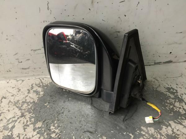 Mitsubishi Pajero III Außenspiegel links elektrisch in schwarz 1999-2007 Baujahr
