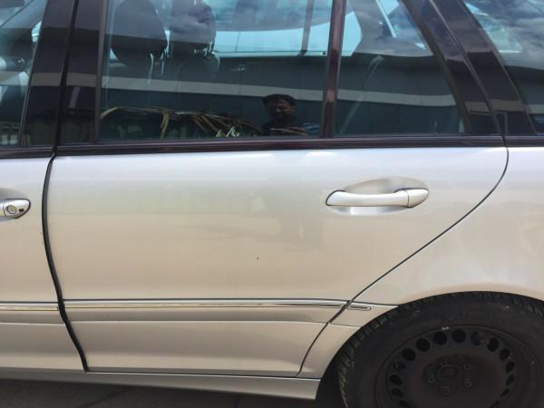 Mercedes C-Klasse W203 kombi Tür hinten links in silber 744 2003 Bj. ohne Rost
