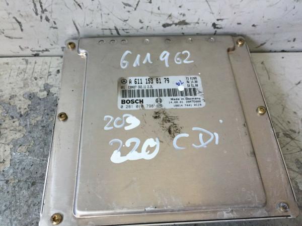 Motor Steuergerät A6111538179 Mercedes C-Klasse C220 CDI 611962 Geprüft!!!