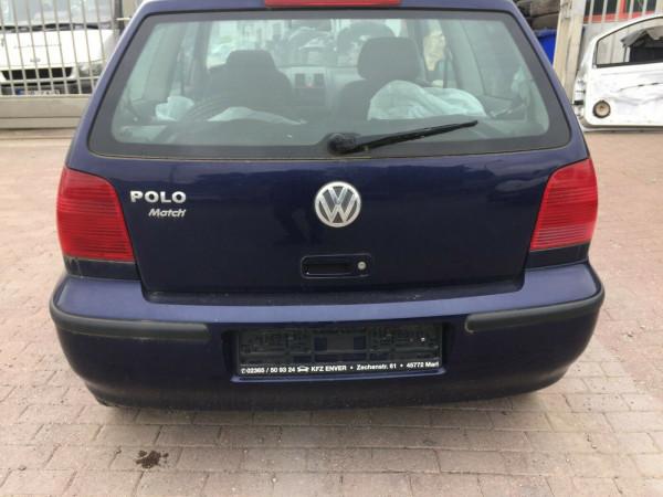 VW Polo 6N2 Heckklappe in dunkelblau LB5N 3 Türig