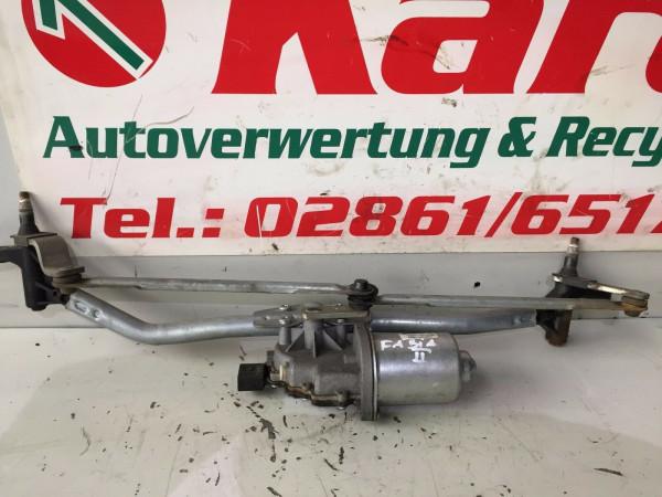 Wischermotor vorne mit Gestänge Scoda Fabia 5J 2010 Baujahr 5j1955113b