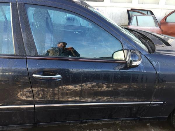 Mercedes E-Klasse W211 kombi T-Model Tür vorne rechts Smaragdschwarz met. C189