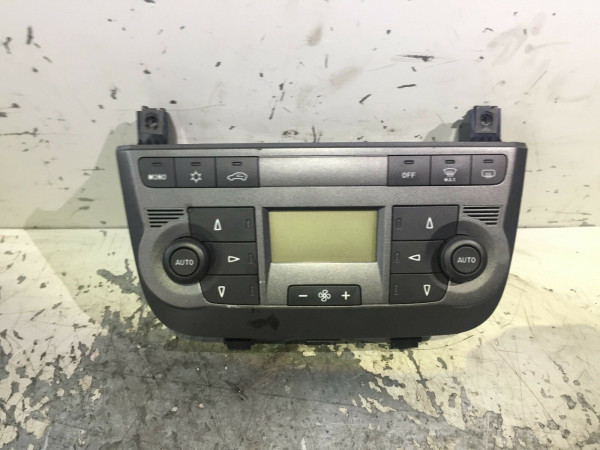 Bedienteil Display Klimabedientteil Fiat Grande Punto 199 2009Bj. 735419793