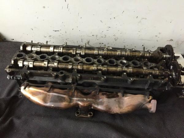 Zylinderkopf komplett mit Ventile Nockenwelle BMW M57T motor 525 530d 77885649