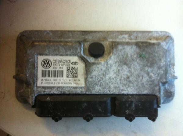03C906024CN Motor Steuergerät VW Polo 6R 2012Bj. 1.4 16V
