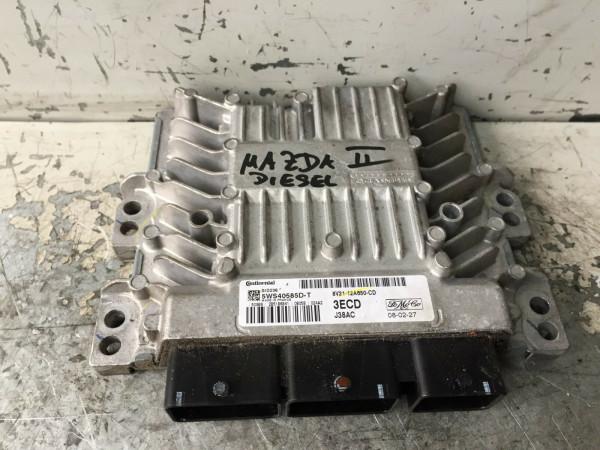 8V21-12A650-CD Mazda 2 Motorsteuergerät 1.4 CD TDCI 50kW F6JB motor Geprüft!!