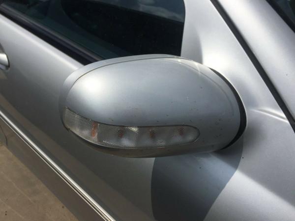 Mercedes C-Klasse W203 Außenspiegel rechts elektrisch in silber 744