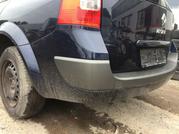 Renault Megane II kombi Facelift Stoßstange hinten NV472 Crepuscule Perleffekt