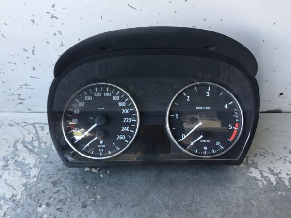 Tacho BMW 3er E90 320d M47 9110205.05 1025350-51