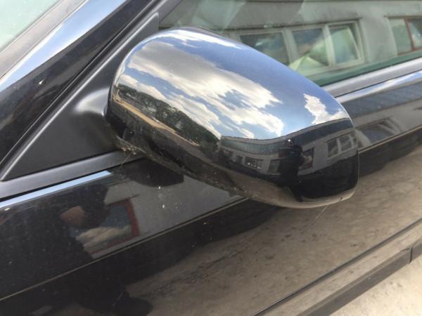 Audi A3 8P Außenspiegel links elektrisch in Brillantscharz LY9B 5 Türig